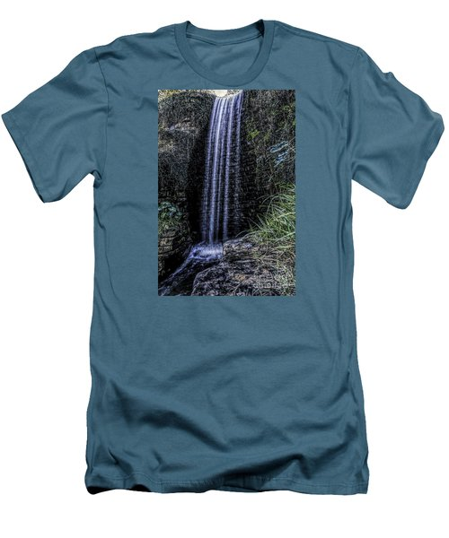 High Fall Men's T-Shirt (Slim Fit) by Ken Frischkorn