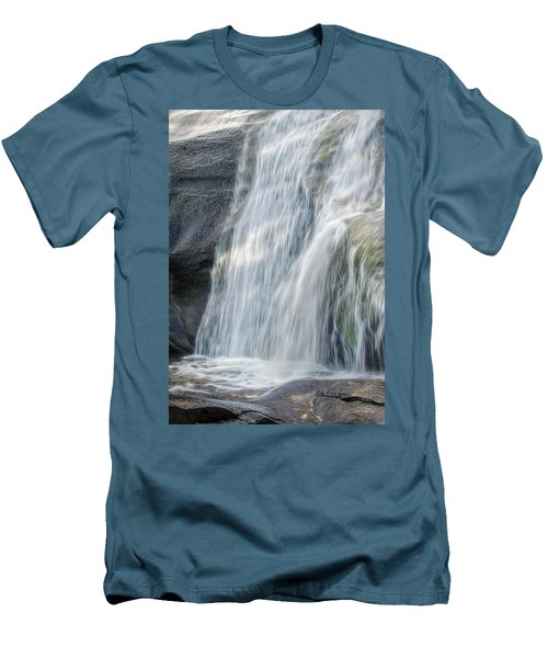 Men's T-Shirt (Slim Fit) featuring the photograph High Falls Three by Steven Richardson