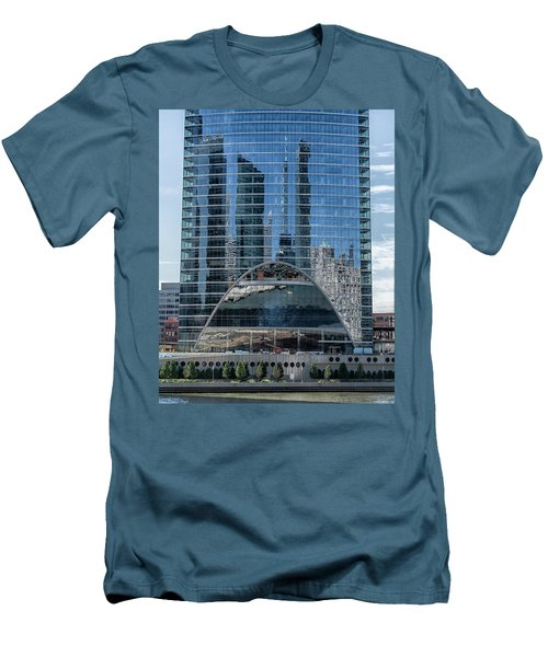 High Rise Reflections Men's T-Shirt (Slim Fit) by Alan Toepfer