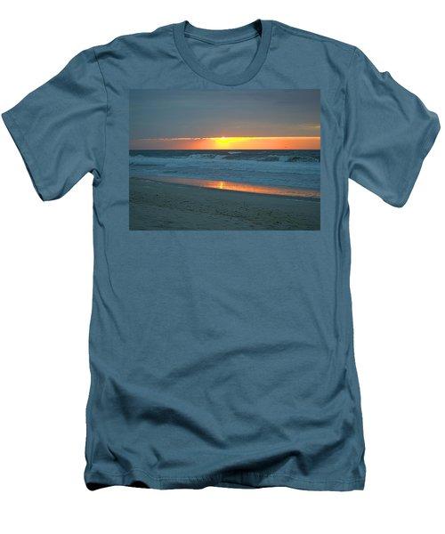 High Sunrise Men's T-Shirt (Slim Fit) by  Newwwman