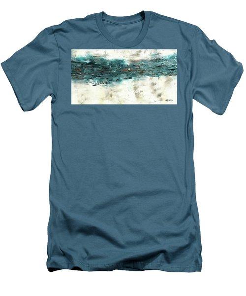 High Tide Men's T-Shirt (Slim Fit) by Carmen Guedez