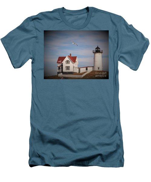 Highlighting The Nubble Light Men's T-Shirt (Athletic Fit)