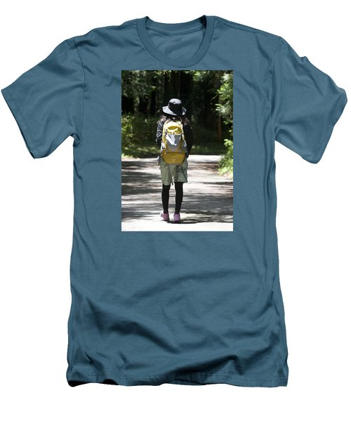 Hiker Men's T-Shirt (Athletic Fit)
