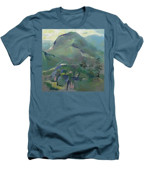 Hiking Men's T-Shirt (Athletic Fit)