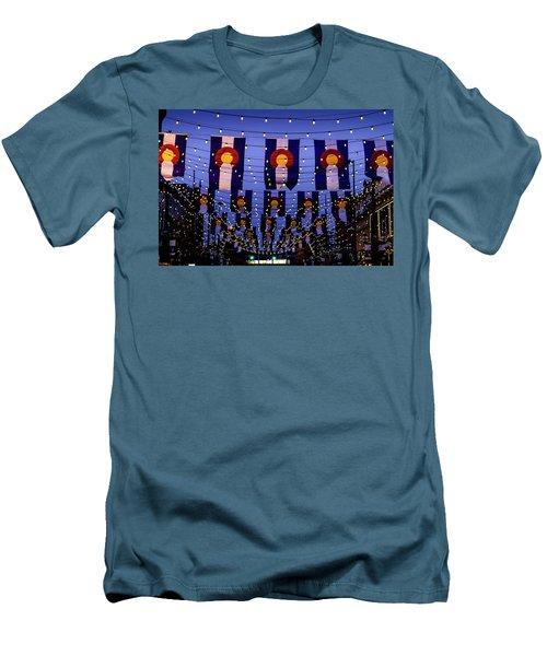 Historic Larimer Square Denver Men's T-Shirt (Athletic Fit)
