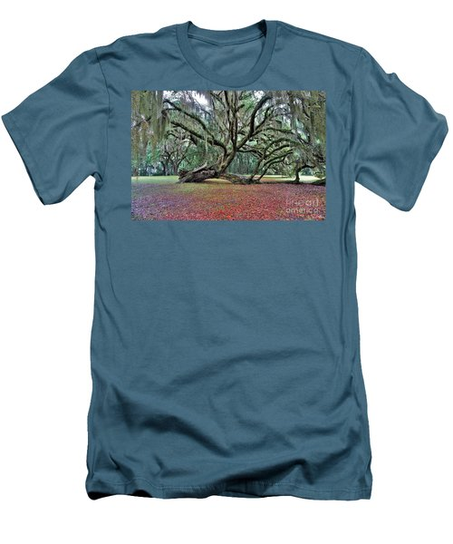 Hofwyl-broadfield Plantation2 Men's T-Shirt (Athletic Fit)