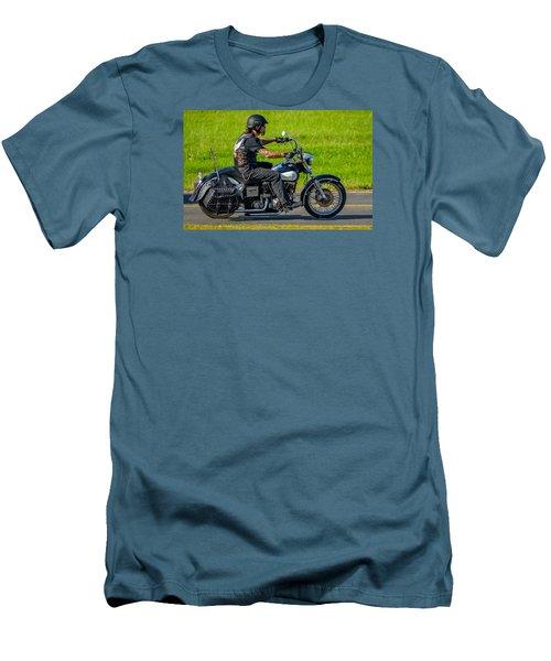 hog Men's T-Shirt (Slim Fit) by Brian Stevens