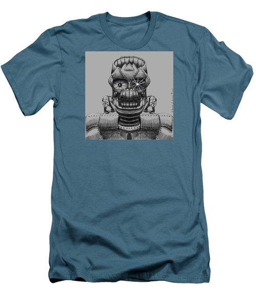 Hole Machine. Men's T-Shirt (Athletic Fit)