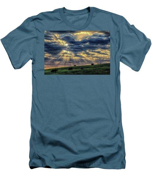 Holy Cow Men's T-Shirt (Slim Fit) by Fiskr Larsen