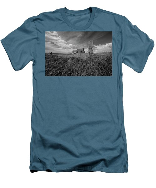 Men's T-Shirt (Slim Fit) featuring the photograph Home On The Range  by Aaron J Groen