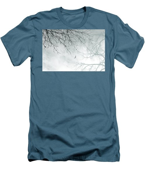 Men's T-Shirt (Slim Fit) featuring the digital art Home by Trilby Cole