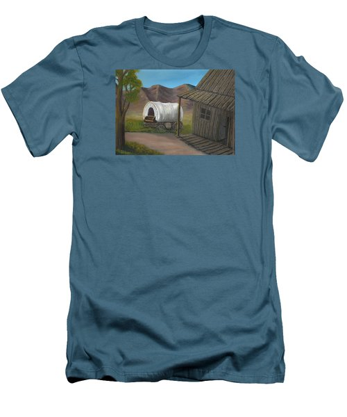 Homestead Men's T-Shirt (Slim Fit) by Sheri Keith