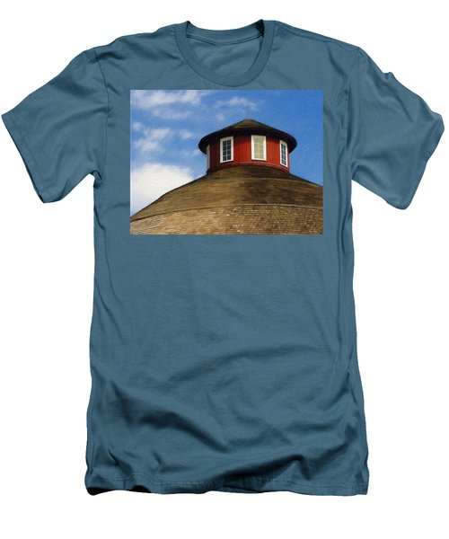 Hoosier Cupola Men's T-Shirt (Athletic Fit)