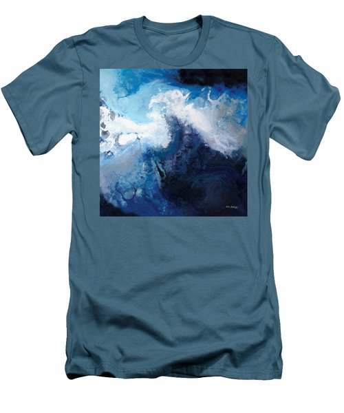 Hope In The Lord. Psalm 31 24 Men's T-Shirt (Slim Fit) by Mark Lawrence