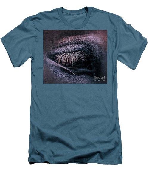 Horses Eye-color Men's T-Shirt (Athletic Fit)