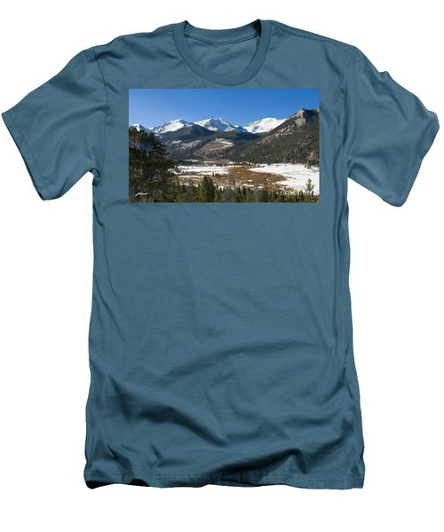 Horseshoe Park Rmnp Men's T-Shirt (Athletic Fit)