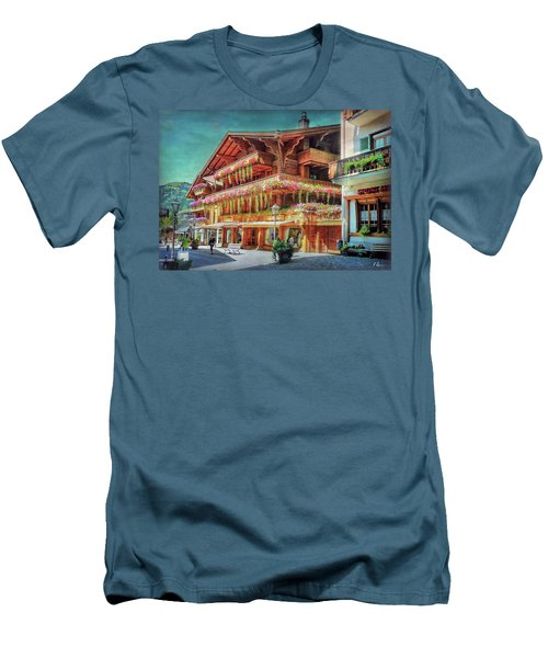 Men's T-Shirt (Athletic Fit) featuring the photograph Hot Spot by Hanny Heim