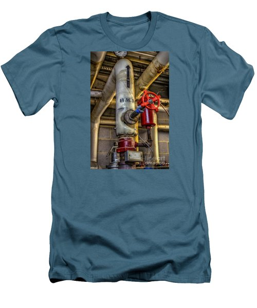 Hot Water Supply Men's T-Shirt (Athletic Fit)