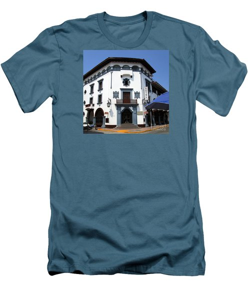 Hotel Colonial Men's T-Shirt (Slim Fit) by Randall Weidner