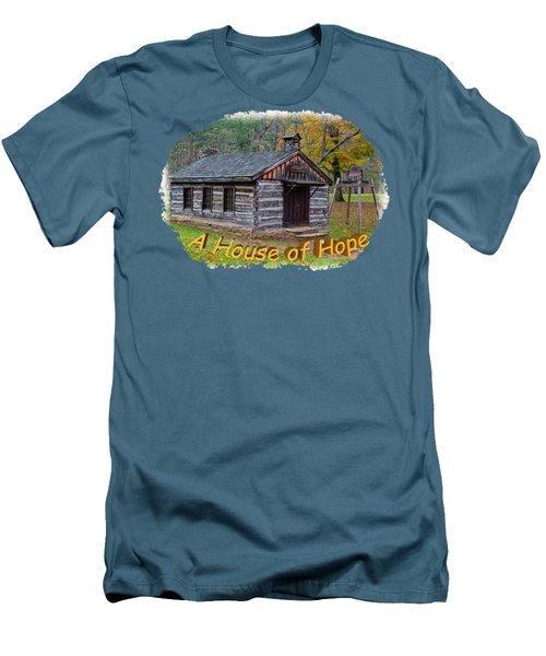 House Of Hope Men's T-Shirt (Slim Fit) by John M Bailey