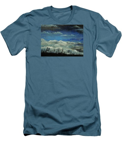 How Majestic Is Your Name Men's T-Shirt (Slim Fit) by Dan Whittemore