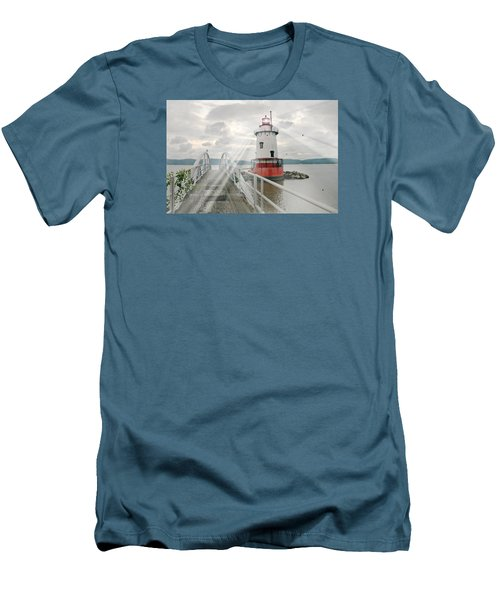 Hudson Light Men's T-Shirt (Slim Fit) by Diana Angstadt