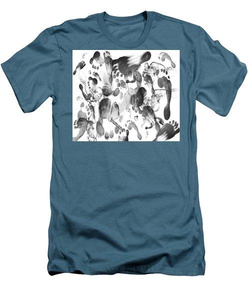 Humans Men's T-Shirt (Athletic Fit)