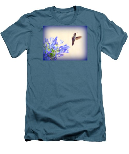 Hummer In Blue Men's T-Shirt (Athletic Fit)