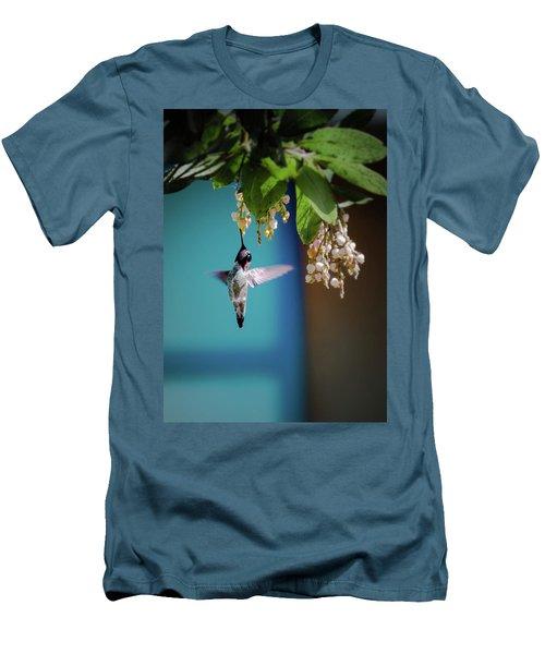 Hummingbird Moment Men's T-Shirt (Slim Fit) by Mark Dunton
