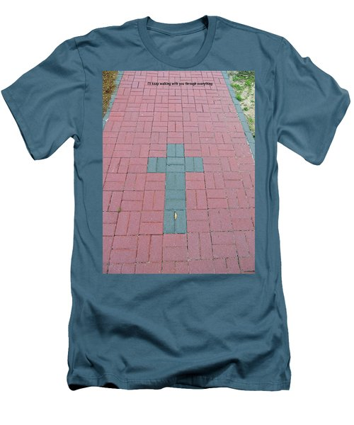 Men's T-Shirt (Athletic Fit) featuring the photograph I Got You by Aaron Martens