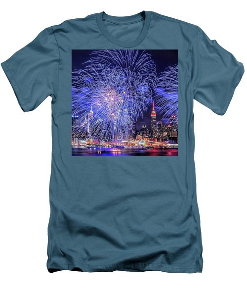 I Love This City Men's T-Shirt (Athletic Fit)