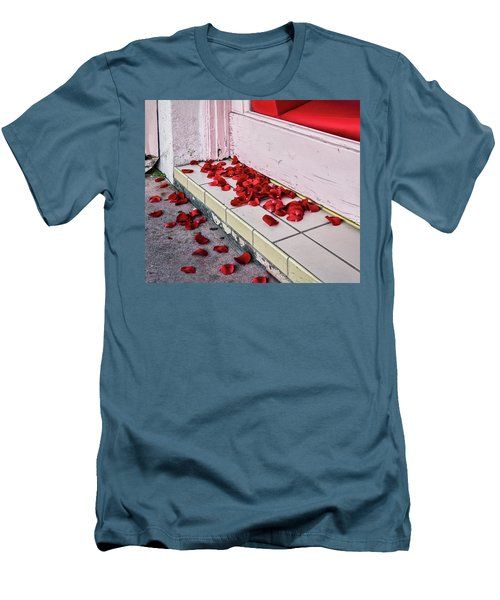 I Poured Out My Heart Men's T-Shirt (Athletic Fit)