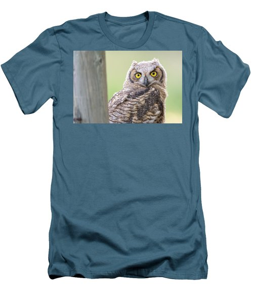 I See You Men's T-Shirt (Slim Fit) by Scott Warner