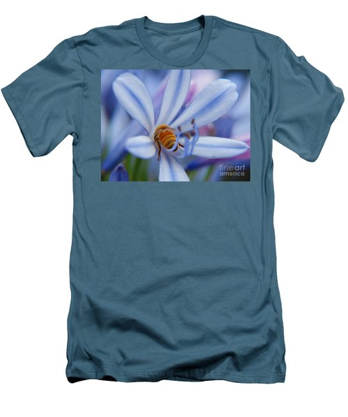 Men's T-Shirt (Slim Fit) featuring the photograph I Want More by Trena Mara