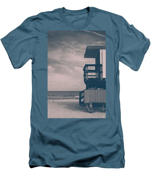 Men's T-Shirt (Slim Fit) featuring the photograph I Was Checkin' On The Surfin' Scene by Yvette Van Teeffelen