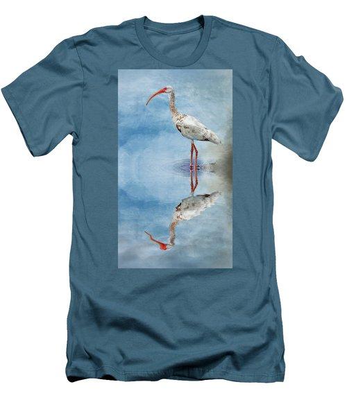 Ibis Men's T-Shirt (Slim Fit) by Cyndy Doty