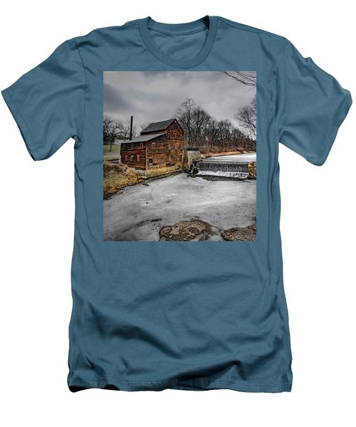 Ice Mill Men's T-Shirt (Athletic Fit)