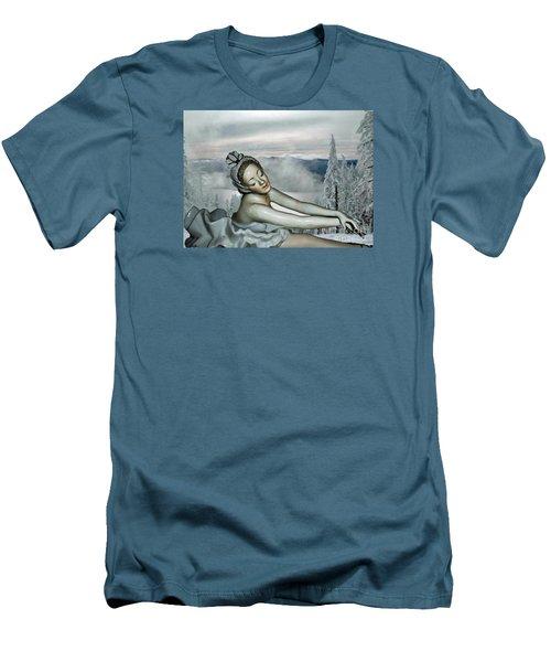 Ice Princess Men's T-Shirt (Slim Fit) by Lyric Lucas