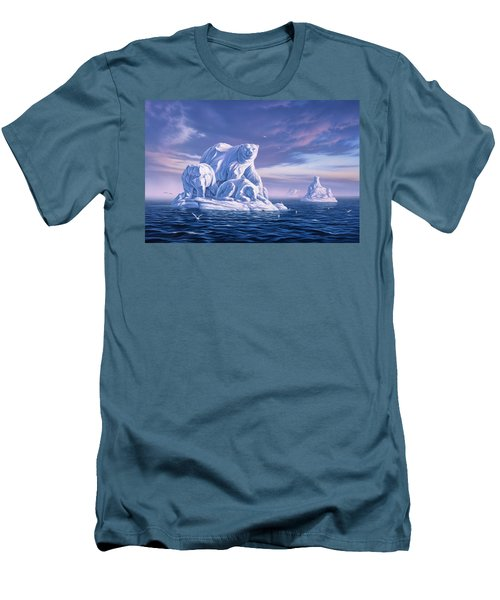 Icebeargs Men's T-Shirt (Athletic Fit)