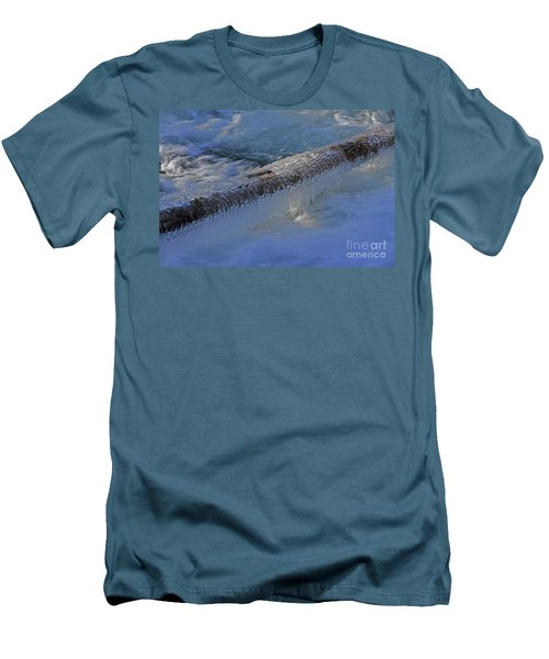 Icy Log Men's T-Shirt (Athletic Fit)