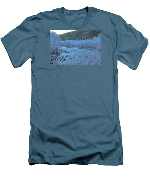 Icy River Men's T-Shirt (Athletic Fit)