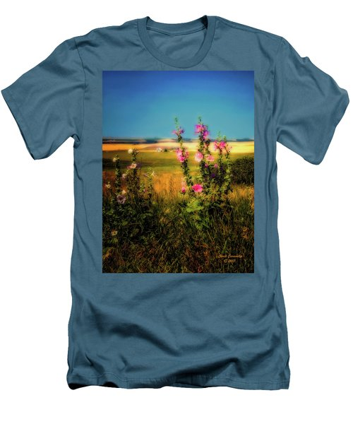 Idaho Farmhouse  ... Men's T-Shirt (Athletic Fit)