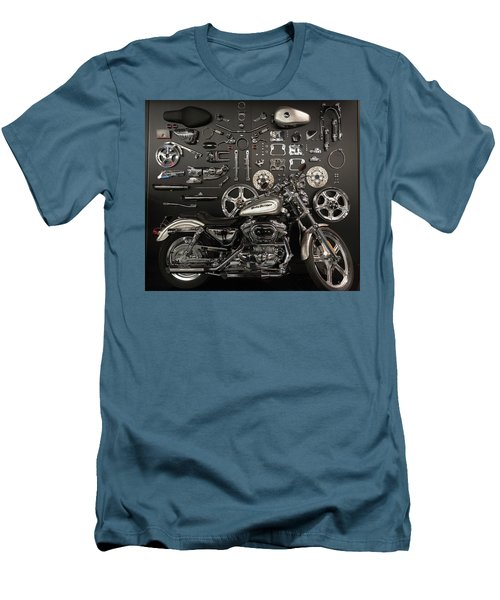 Men's T-Shirt (Slim Fit) featuring the photograph If Bling Is Your Thing by Randy Scherkenbach