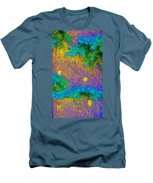 Men's T-Shirt (Slim Fit) featuring the photograph Imagining Hawaii by Lenore Senior