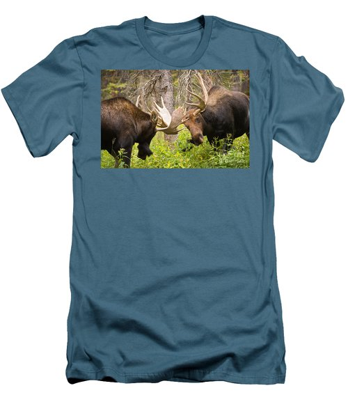 Men's T-Shirt (Slim Fit) featuring the photograph The Approach  by Aaron Whittemore