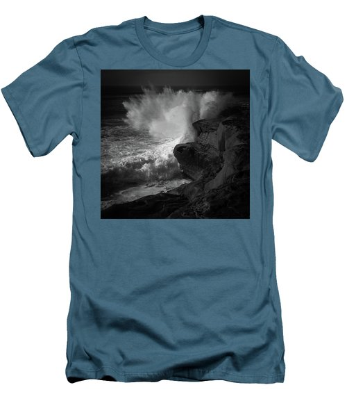 Men's T-Shirt (Slim Fit) featuring the photograph Impulse by Ryan Weddle