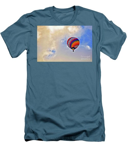 Men's T-Shirt (Slim Fit) featuring the photograph In The Clouds by Gina Savage