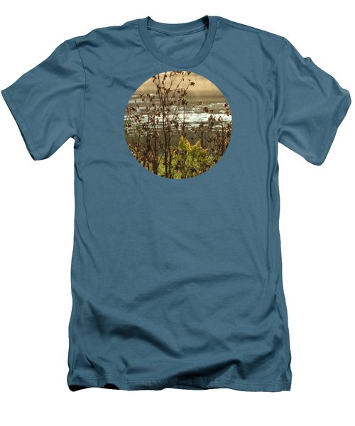 In The Golden Light Men's T-Shirt (Slim Fit) by Mary Wolf