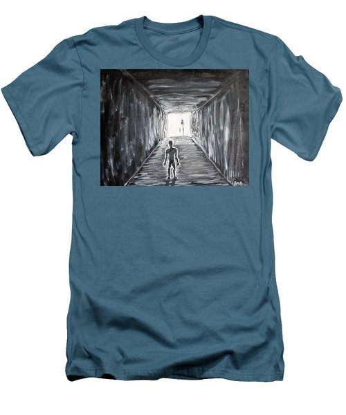 In The Light Of The Living Men's T-Shirt (Slim Fit) by Antonio Romero