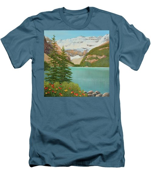In The Mountain Air Men's T-Shirt (Athletic Fit)